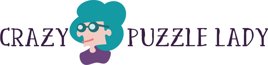 Crazy Puzzle Lady logo